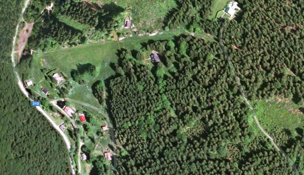 Svah, kde probíhá lyžařská škola –Zdobnice v Orlických horách